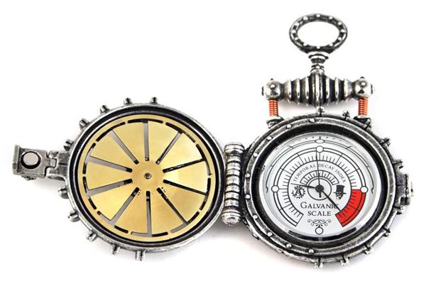 Solar Turbine Steampunk Pocketwatch