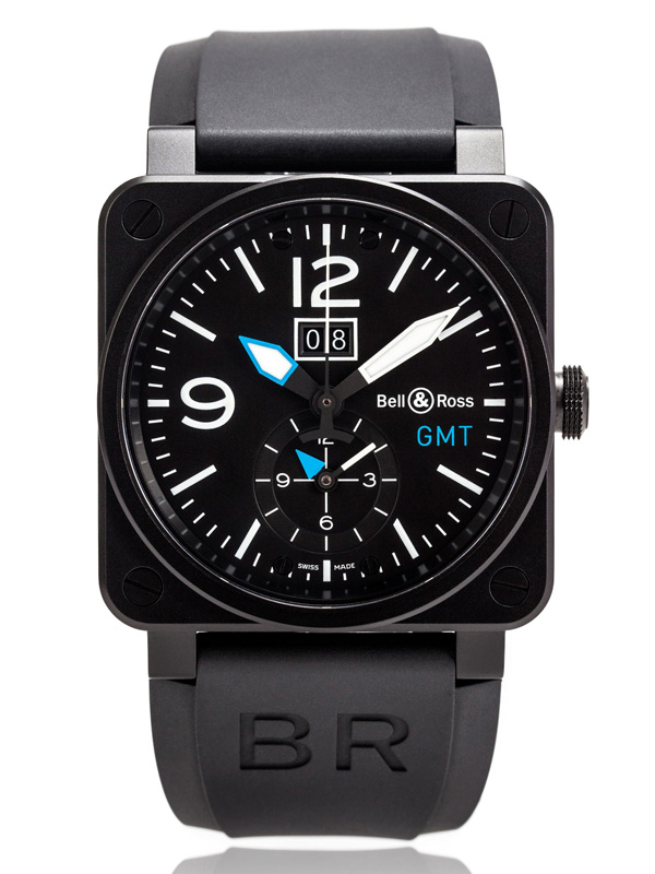 BELL & ROSS AVIATION BR03-51-GMT-CA-BLUE