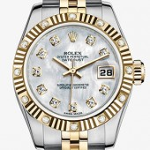 Rolex Datejust Two Tone lady