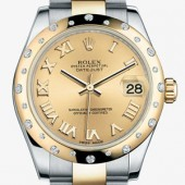 Rolex Lady Datejust Gold watch