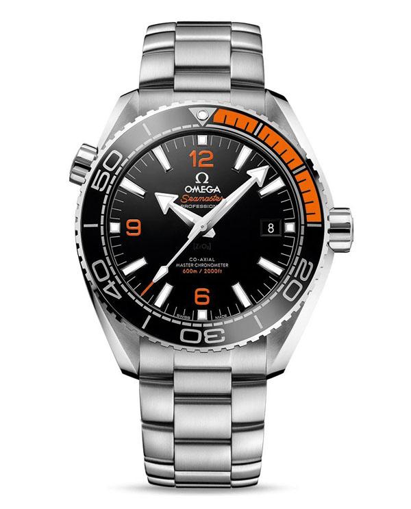 black omega watch